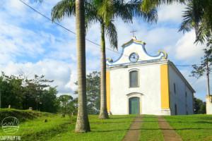 A histórica Capela de Nossa Senhora D'Ajuda